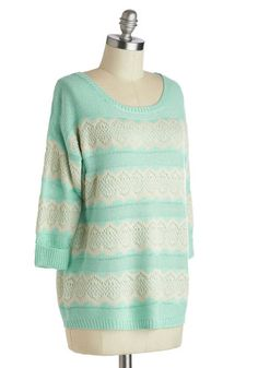 Snuggly Saturday Sweater, #ModCloth
