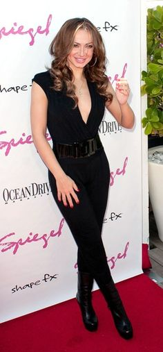 Celebs at the Spiegel Swim and Travel bash