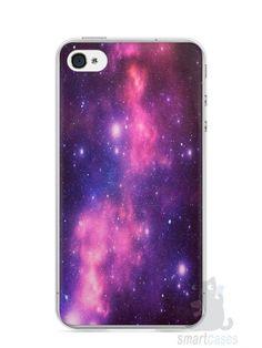 Capa Iphone 4/S Galáxia - SmartCases - Acessórios para celulares e tablets :)