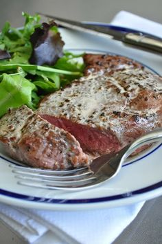 Bistrot Paul Bert Pepper Steak | http://mybakingheart.com