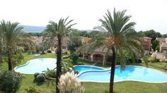 Luxury residential in Nova Santa Ponsa with golf course right next door