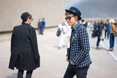 STREETSTYLE | Seoul Fashion Week FW15 – Part2 - Fucking Young!