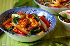 Dr. Fuhrman's Roasted Vegetable Salad With Baked Tofu or Salmon