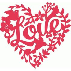 Welcome to the Silhouette Design Store, your source for craft machine cut files, fonts, SVGs, and other digital content for use with the Silhouette CAMEO® and other electronic cutting machines. Silhouette Cameo Projects, Silhouette Design, Love You Images, Cricut Creations, Kirigami, Heart Patterns, Heart Art, Envelopes, Paper Art