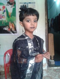 Fashion show at Saket public school, Gondi. 4yrs old.