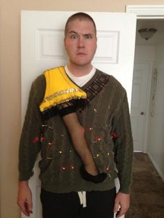 OMG -- 31 Ugly Christmas Sweater Ideas -- definitely an ugly Christmas sweater! Lol