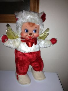 vintage rubber face bunnyThe Rushton company stuffed by CANDYLEMON, $399.00