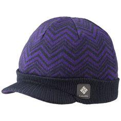 Columbia Sportswear Urbanization Visor Beanie Hat (For Men and Women) in Abyss