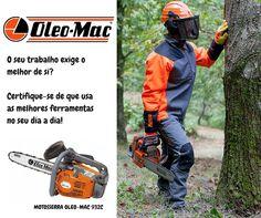 Use as melhores ferramentas Oleo-Mac! #oleomac #oleomacportugal #motosserra