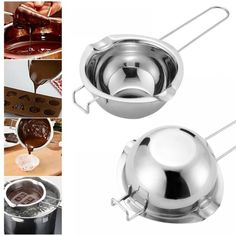 BE KF Stainless Steel Chocolate Butter Melting Pot Pan Bowl Kitchen Baking Too for sale online Chocolate Butter, Melting Chocolate, Diy Candles Scented, Baking Utensils, Double Boiler, Tools For Sale, Baking Tools, Steel, Tableware