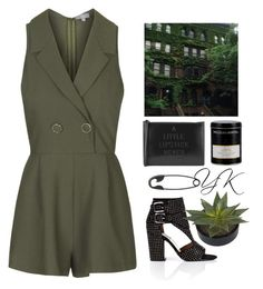 """""""I Don't Know How To Talk To You"""" by youryulianna ❤ liked on Polyvore featuring Topshop, Laurence Dacade, Lulu Guinness, Other and Williams-Sonoma"""