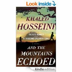 And the Mountains Echoed by Khaled Hosseini - Hosseini is simply a beautiful writer. At some times I forgot I was reading and was simply engrossed in the story. I'll admit the last fourth or so lost me ... but in general, lovely and eloquent and interesting.