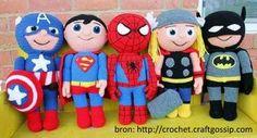 gehaakte superhelden