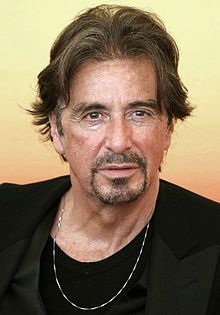 """Alfredo James """"Al"""" Pacino (/pəˈtʃiːnoʊ/; born April 25, 1940) is an American film and stage actor and director. He is well known for playing mobsters, including Michael Corleone in The Godfather trilogy and Tony Montana in Scarface, and often appeared on the other side of the law—as a police officer, a detective and lawyer. For his performance as Frank Slade in Scent of a Woman he won the Academy Award for Best Actor in 1992..."""