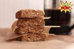 Coffee And Oat Protein Bars