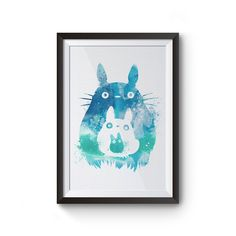 This is a fan art I made for Studio Ghibli's animation My Neighbor Totoro. This…