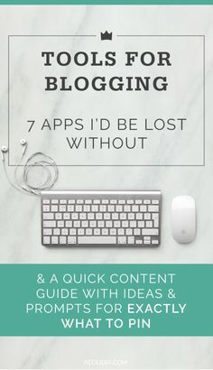 Blogging Tools To Make The Job So Much More Organized