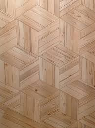 floor pattern out of wooden tile