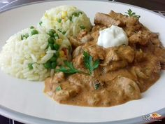 Curry, Food And Drink, Chicken, Meat, Ethnic Recipes, Stroganoff Recipe, Recipies, Curries, Cubs