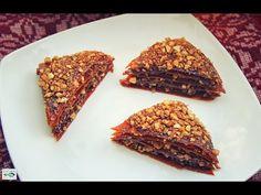 Baklava - Dolce Veg Raw Food   Link Video Ricetta: http://youtu.be/A17jzmaXRbo  #rawfood #crudismo #baklava #dolce #dessert