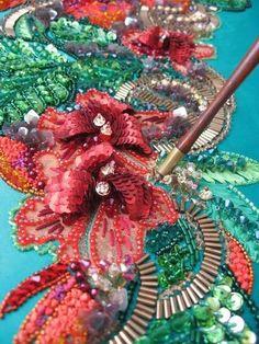 Bordados D3   Veja inspiração em trabalhos artesanais com efeito tridimensional