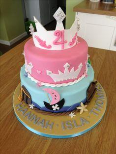 Princess and Pirates cake