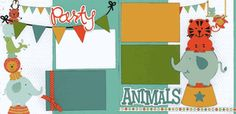 Party Animals Page Kit