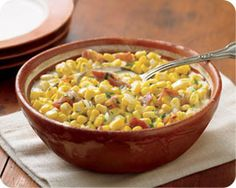 If you decide to make this Creamed Sweet Corn with Bacon recipe, be prepared to make seconds! #Schwans #Thanksgiving #ThanksgivingRecipes