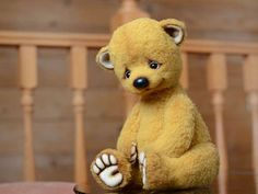 Teddy Toys, Handmade Toys, Artist, Animals, Teddy Bears, Beer, Felting, Stuffed Toys, Root Beer
