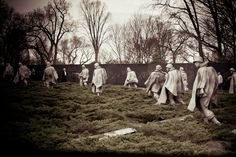 Korean War Memorial in Washington, D.C.  Photo by yours truly.