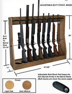 Closet Gun Rack Plan Home Decor Furniture Pinterest