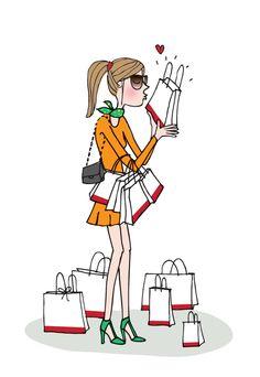 Shopping addicted .. Wonder Thirties #multiactive