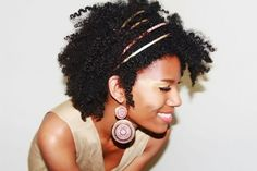 Kasheera LaTash // Natural Hair Style Icon