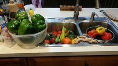 Healthy eating... local Farmer's Market run Preparation is key