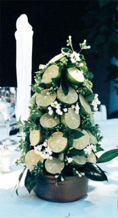 Creative Non Floral Wedding Centerpieces