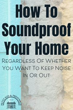 Regardless of whether you're looking to keep noise out or in, installing soundproofing into your property is probably something that's crossed your mind. Question is, how easy is it to soundproof your home effectively? Is it simply a case of buying some acoustic foam and slapping it on the walls, or is there more to it than that? Here, we look at the different types of noise and the best ways in which to reduce the impact they have on how we live. #soundproofing #noisereduction… Real Estate Buyers, Us Real Estate, Selling Real Estate, Property Buyers, Moving Home, Interior Design Advice, Minimalist Scandinavian, Sound Proofing, Being A Landlord
