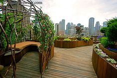 Rooftop gardens are awesome.