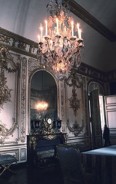 Chandeliers make a room!