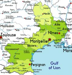 Map of Languedoc-Roussillon France When tenting it can easily seem like there are more stars when compared to the city as you have virtually no lumination from other places to change your awareness.