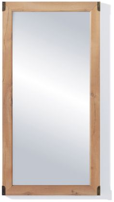 Indiana - Mirror Impact Furniture Shop UK - Big mirror with brown elements.