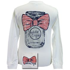 Mason Jar - White LONG SLEEVE Tee , on sale today. Use code : DIXIE to get 50% off .  1/31/15 - Enter code after you add your shipping address
