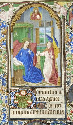 Book of Hours, MS M.1003 fol. 31r - Images from Medieval and Renaissance Manuscripts - The Morgan Library & Museum