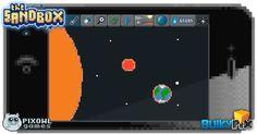 Solar System  #pixelart #sandbox #pixel #art #ios #iphone