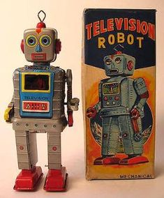 free online antique toy appraisals space robots tin japanese toy cars wind-up appraisal, vintage space toys for sale online, online antique robot Vintage Robots, Retro Robot, Retro Toys, Vintage Toys, Victorian Dollhouse, Décor Antique, Antique Toys, Space Toys, Vintage Space