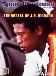 jr richard - Google Search Sports Magazine Covers, Sports Illustrated Covers, Nolan Ryan, American Sports, National League, Texas Rangers, Vintage Magazines, Houston Astros, Mlb