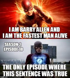 The Flash, Barry Allen
