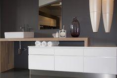 baderomsinnredning - Google-søk Double Vanity, Bathroom, Washroom, Full Bath, Bath, Bathrooms, Double Sink Vanity