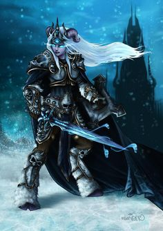 There must always be a Lich... Queen! Art by: @frenone