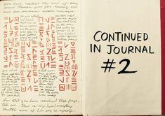 Gravity Falls Journal 1 Replica - Last page by leoflynn