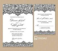 Resultado de imagem para wedding invitation